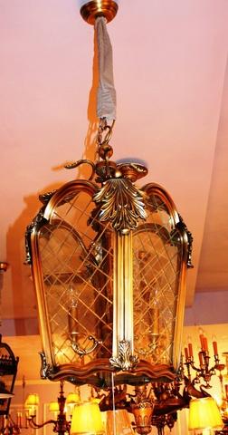 brass pendant 01-84  ( BRITISH LIGHTS)