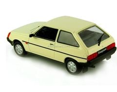 ZAZ-1102 Tavria light beige 1:43 DeAgostini Auto Legends USSR #63