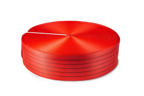 Лента текстильная TOR 6:1 125 мм 17500 кг (красный)