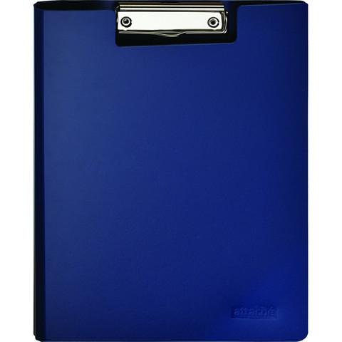 Планшет Attache A4 синий с верх. створкой