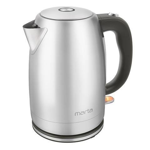 Чайник металлический MARTA MT-4558 серый жемчуг