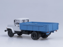 GAZ-3307 wooden board engine ZMZ-513 gray-blue AutoHistory 1:43