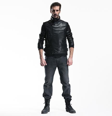 Мужская куртка из ис. кожи