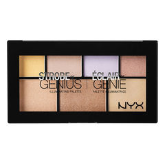 NYX Палитра сияторов STROBE OF GENIUS ILLUMINATING PALETTE