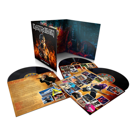 Iron Maiden / The Book Of Souls: Live Chapter (3LP)