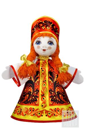 Картинка Кукла с хохломской росписью - 25 см
