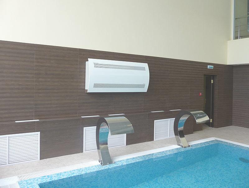 Установка осушителей для бассейна в Сочи