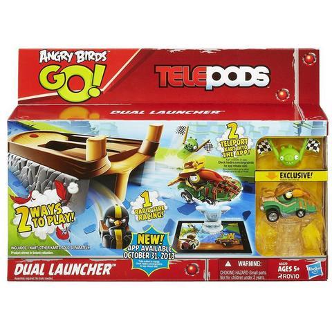 Игровой набор Энгри Бердз с запускаемым механизмом - Angry Birds Go! Telepods, Hasbro