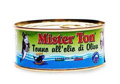 Тунец Yellowfin в оливковом масле Mister Ton, 160г