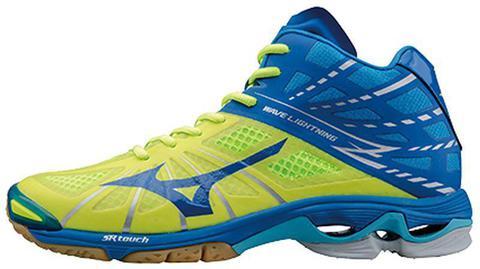 Mizuno Wave Lightning Z mid кроссовки волейбольные мужские (yellow)