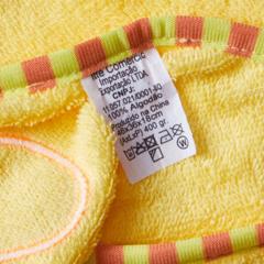 Детское полотенце с уголком-капюшоном Утенок