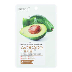 Eunyul Natural Mosture Mask Pack Avocado -  Маска тканевая с экстрактом авокадо