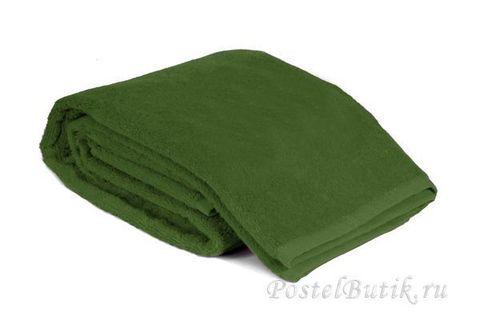 Полотенце 40х75 Mirabello Microcotton зеленое