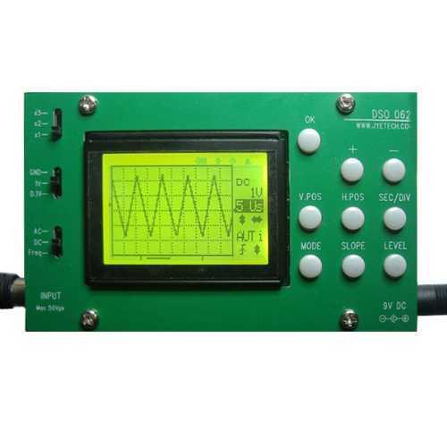 Осцилограф DSO062 с функциями частотомера и БПФ