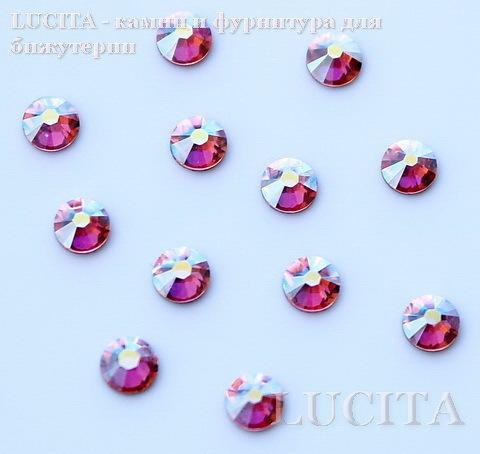 2028/2058 Стразы Сваровски холодной фиксации Light Rose AB ss12 (3,0-3,2 мм), 12 штук