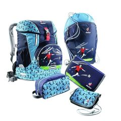 Школьный набор Deuter OneTwo Set (ранец, мешок для сменки, пенал, кошелек, косметичка)