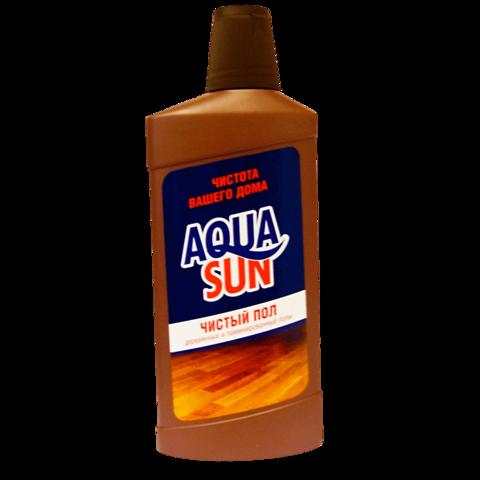 AquaSun Средство чистящее жидкое «Чистый пол» 500 мл