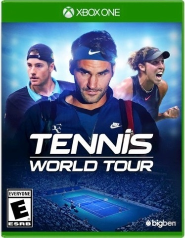 Microsoft Xbox One Tennis World Tour (русские субтитры)