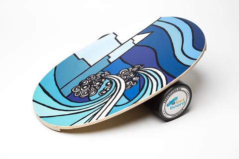 Балансборд FeetBoard Classic - Wave & Mountain