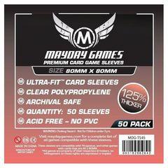 Протекторы для настольных игр Mayday Premium Medium Square Card (80x80) - 50 штук