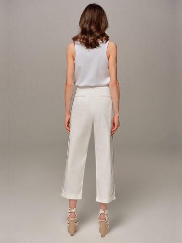 Женские белые брюки Eleventy - фото 2