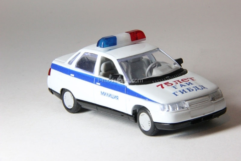 VAZ-2110 Lada DPS GIBDD 75 years GAI Police Agat Mossar Tantal 1:43