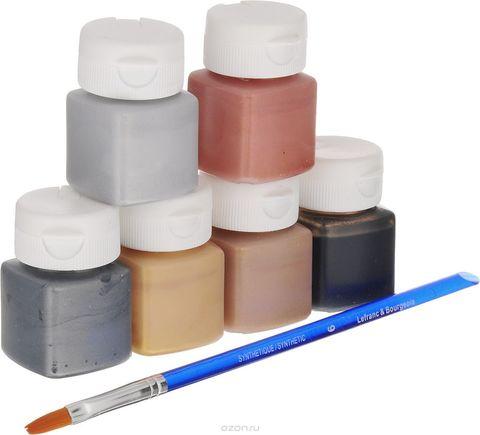 Набор акриловых красок Lefranc&Bourgeois MISS DECO. Металлик (6х20 мл)