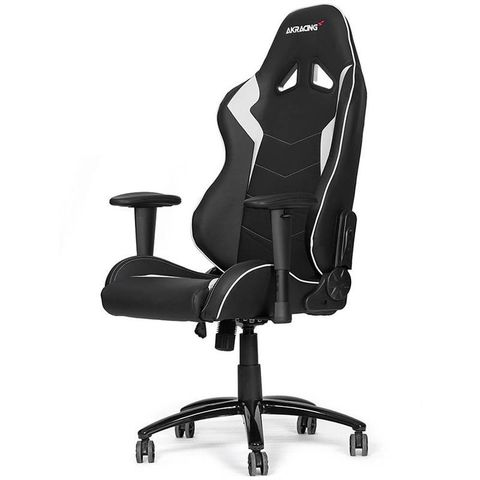 Игровое Кресло AKRacing OCTANE (AK-OCTANE-WT) black/white