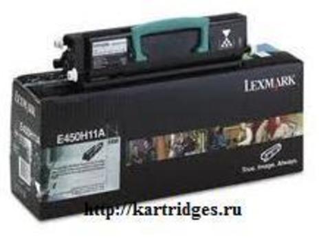 Картридж Lexmark E450H11E