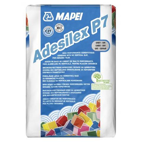 Клей плиточный МАПЕЙ/MAPEI Adesilex P7 / серый 25кг