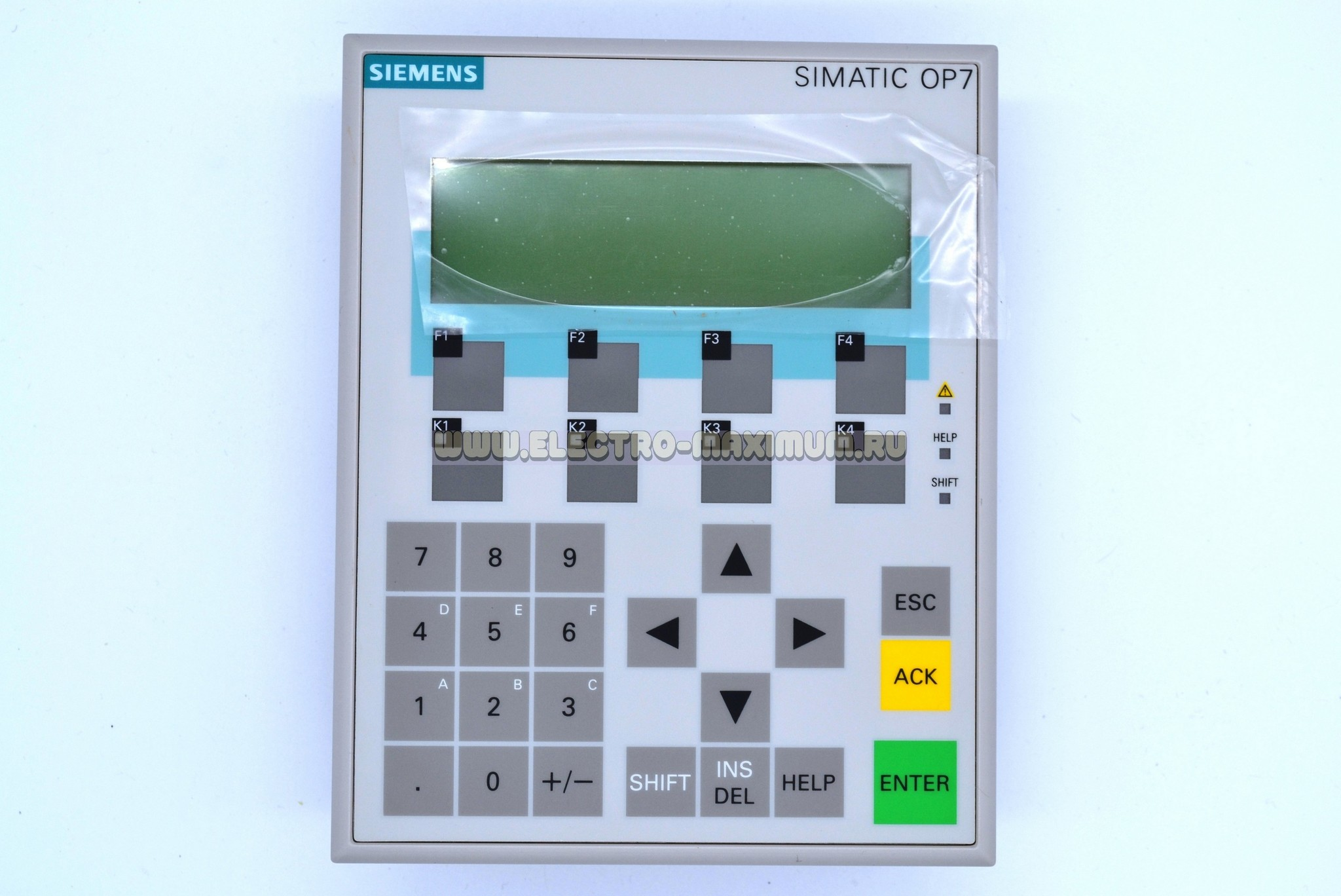 SIEMENS Simatic OP7/DP 6AV3607-1JC00-0AX1