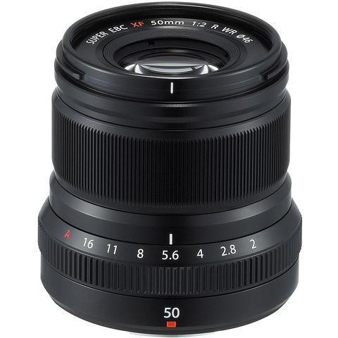Fujifilm XF 50mm f/2 R WR Black