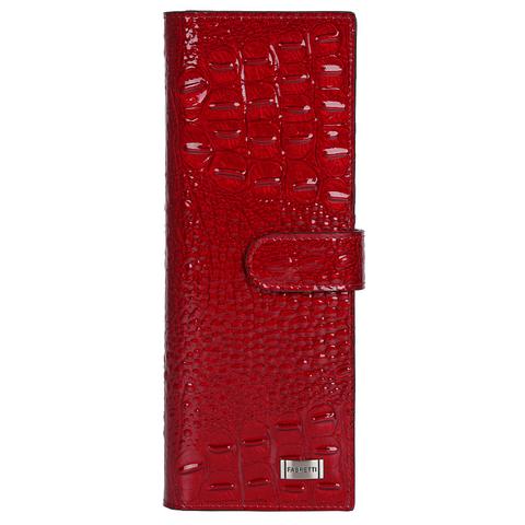 Визитница женская Fabretti 81502-red cocco L