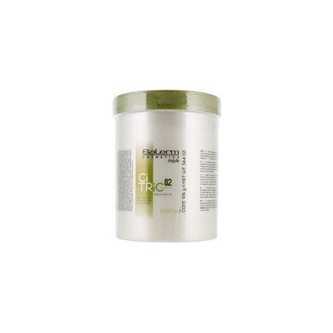 Мacка для окрашенных поврежденных волос,Salerm Citric,1000 мл.