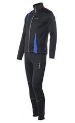 Детский разминочный лыжный костюм Nordski Active NSJ324700 синий