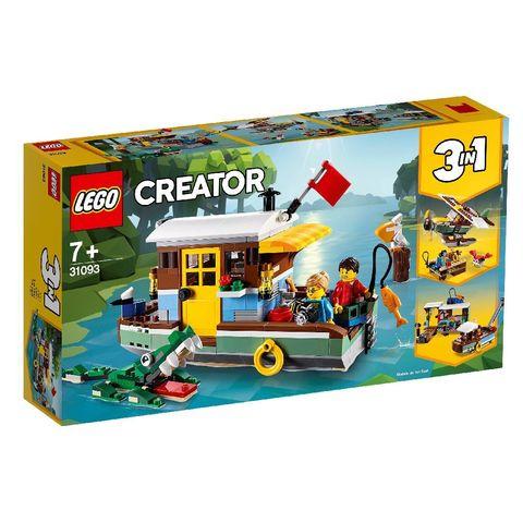 LEGO Creator: Плавучий дом 31093 — Riverside Houseboat — Лего Креатор Создатель