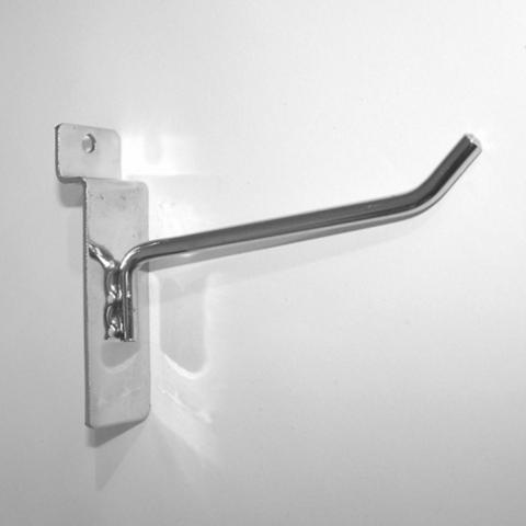 Крючок для экономпанели 100 мм d.5 mm  хром, ЭП 290/5