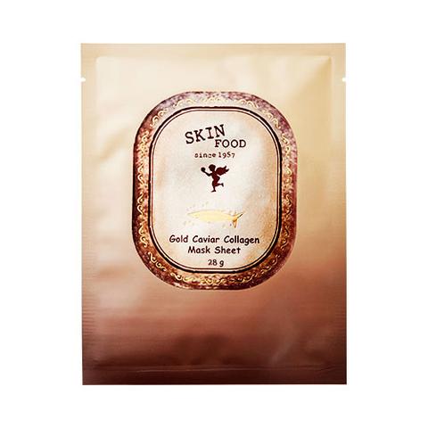 Маска SKINFOOD Gold Caviar Collagen Mask Sheet 1шт.