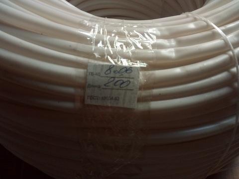 Трубка ТВ-40 (кембрик) 8,0 х 0,6 (200 м)