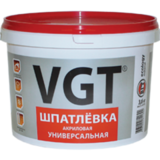 Шпатлевка ВГТ универсальная для наружных и внутренних работ