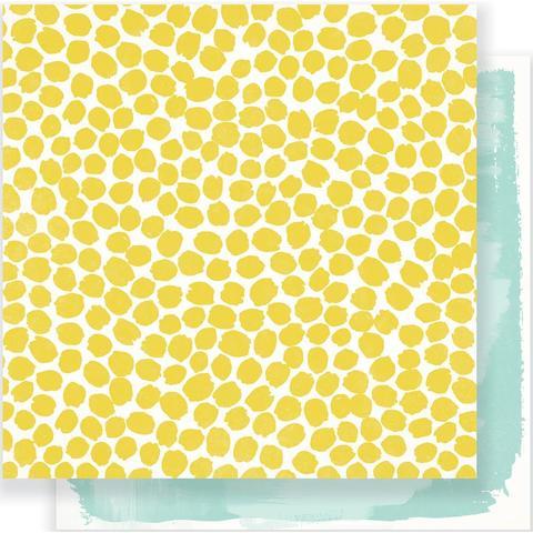 Лист двусторонней бумаги- Gather  Maggie Holmes от Crate Paper 30х30см