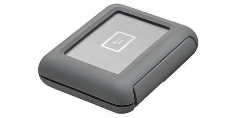 LaCie DJI Copilot USB 3.1 TYPE C Grey 2Tb сверху