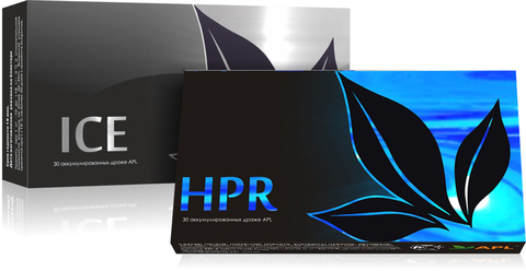 APL. Набор Аккумулированные драже APLGO ICE+HPR  для улучшения пищеварения и защиты печени