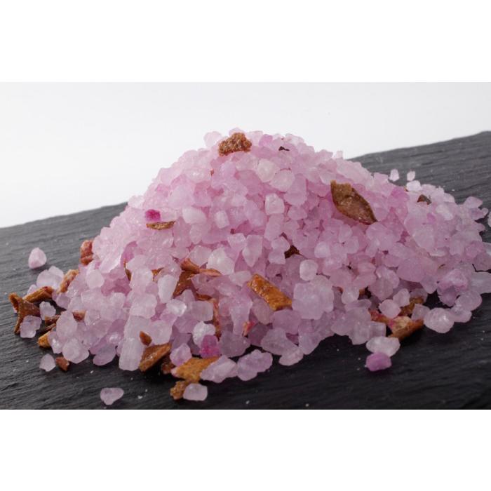 Autour Du Bain Тонизирующая соль для ванны Cassis Pamplemousse / Черная смородина с грейпфрутом (Подарки для женщин)