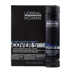 L`oreal Professionnel Homme Cover 5 №7 - Тонирующий гель (блондин)