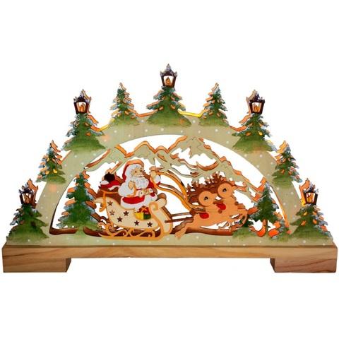 Световая фигура «Санта в санях», LT085 (Feron)