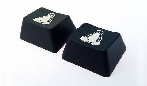 Клавиши для Linux Das Keyboard (2 шт.)