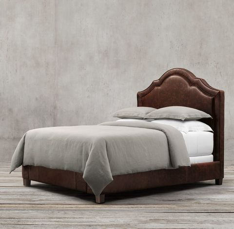 Jameson Leather Bed