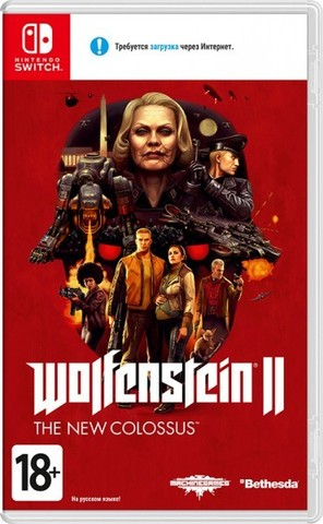 Nintendo Switch Wolfenstein II: The New Colossus (русская версия)