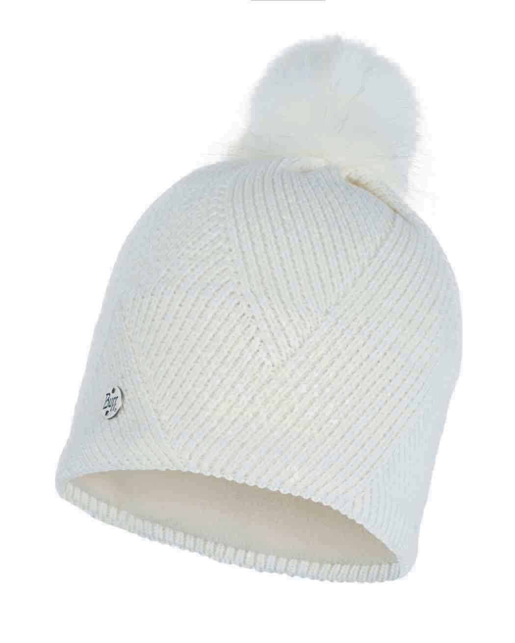 Шапки с помпоном Вязаная шапка с флисовой подкладкой Buff Hat Knitted Polar Disa Fog 117869.016.10.00.jpg
